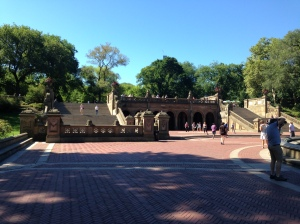 Bethesda Fountain Steps, Central Park