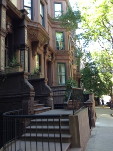 New York Brownstone Row Houses