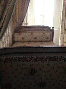 Day bed at Le Petit Trianon