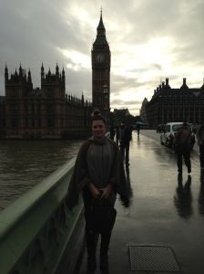 Picture in front of Big Ben & Westminster Palace