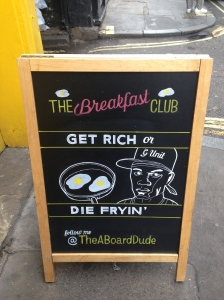 The Breakfast Club Sign