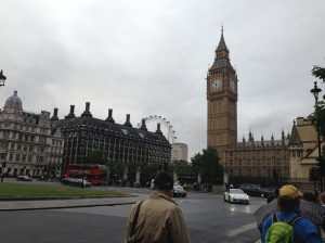 Westminster Palace, Big Ben and The London Eye