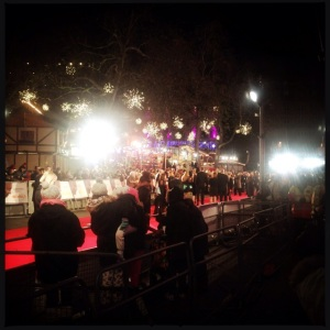 Some movie premiere at Leicester Square