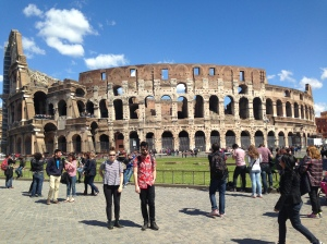 Band shot at the Colosseum